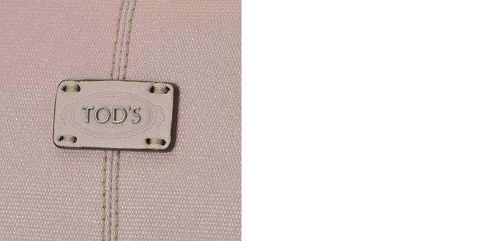 TOD'S/トッズ 2015年春夏新作 コーティングキャンバス×レザー 2WAYハンドバッグ HH0200 8EF 757I