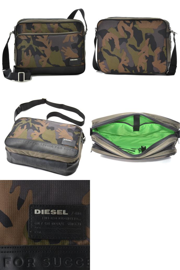 DIESEL/ディーゼル  ON THE ROAD CLUB POTSIE TWICE ショルダーバッグ X02404 PR608 H5069